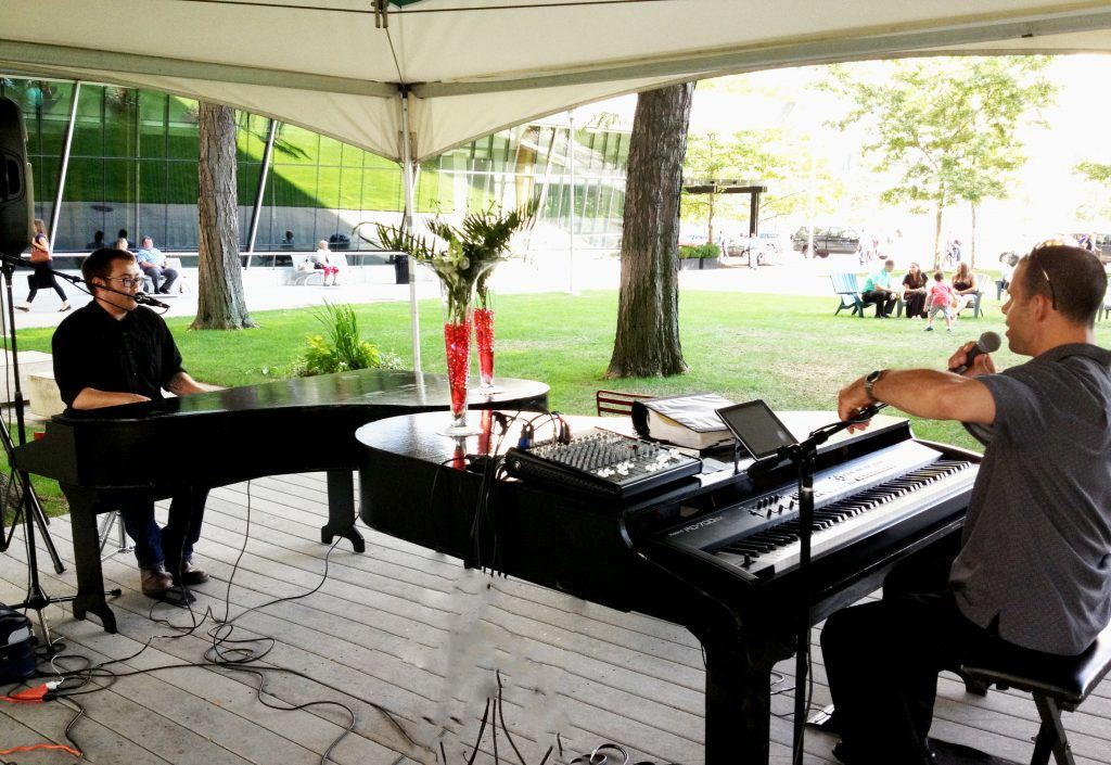 Dynamic Dueling Pianos Outdoor Concert EventGo2guy 1116