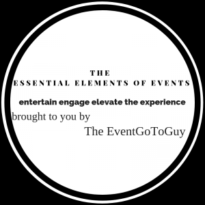 The EventGoToGuy Essential Elements logo