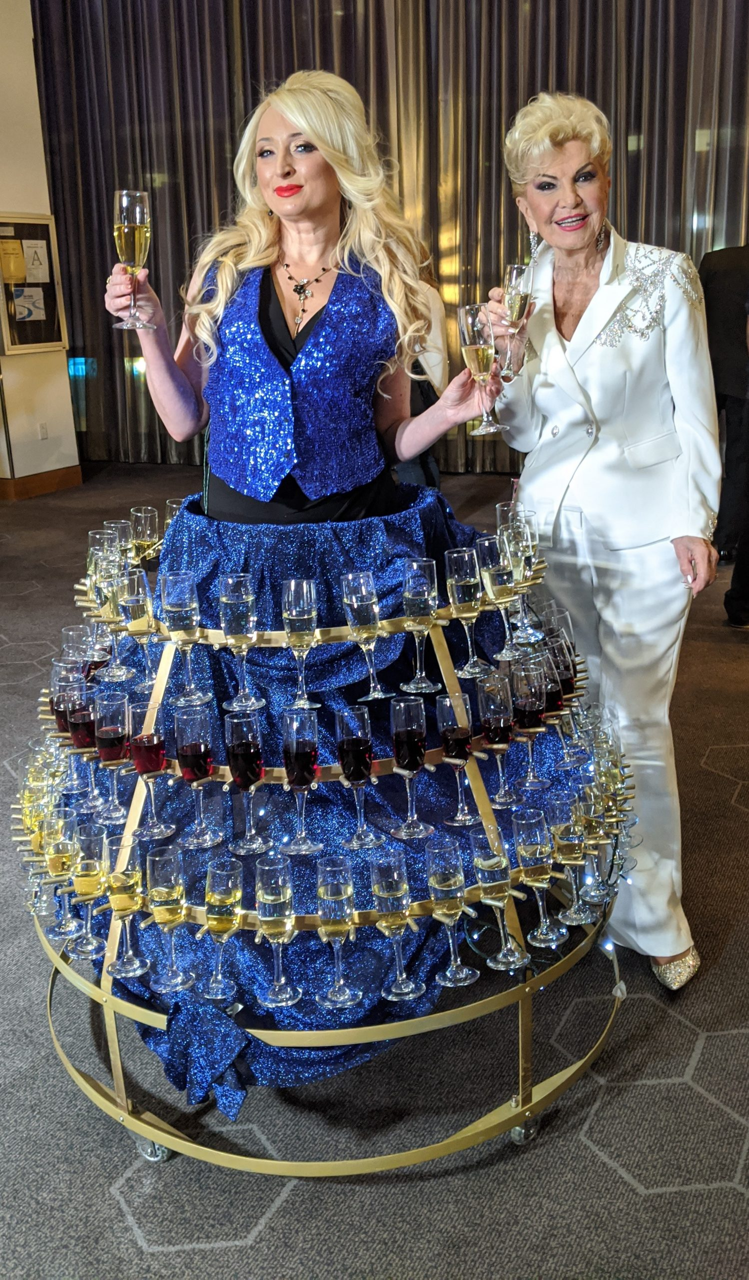 Champagne Dress_Hot Blue_Gosia_Yolanda Cellucci_BostonEventGoToGuy